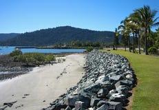 airlie海滩昆士兰 库存照片