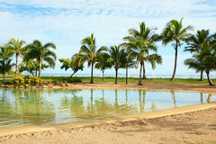 Airlie Beach Lagoon Stock Photo