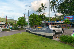 Airlie beach Main street urban landscape Royalty Free Stock Photos