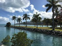 airlie beach sunny day Stock Photography