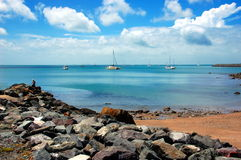 Airlie beach waterfront, Queensland, Australia Stock Photos