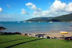 Airlie beach waterfront, Queensland, Australia Royalty Free Stock Images
