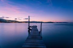 Airlie-Strand-Sonnenuntergang Lizenzfreie Stockbilder