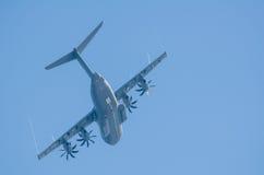 Airlifter för flygbuss A400M Fotografering för Bildbyråer