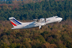 Airlinair Air France ATR 42 Arkivbilder