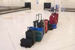 Airline Baggage Stock Photo