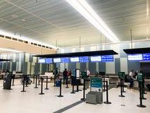 Airline Check In at Charleston International Airport. Charleston, South Carolina Stock Photography