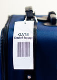 Airline gate checked baggage. Royalty Free Stock Image