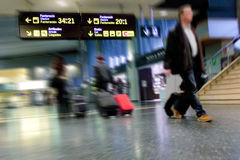 Airline passengers Royalty Free Stock Photo