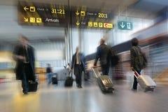 Airline Passengers Stock Photo