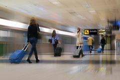 Airline Passengers Royalty Free Stock Photos