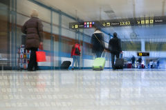 Airline Passengers Royalty Free Stock Images