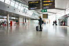 Airline Passengers in the Airport Royalty Free Stock Image
