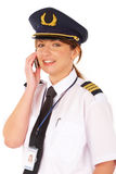 Airline pilot Stock Photo
