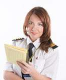 Airline pilot Stock Photography