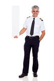 Airline pilot captain Royalty Free Stock Photo