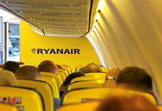 Airline Ryanair Royalty Free Stock Photo