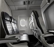 Airline Seats Stock Photo