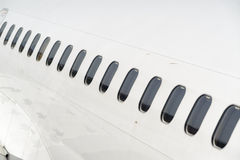 Airline windows Stock Images