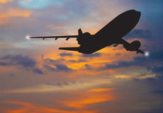 Airliner Royalty Free Stock Photo