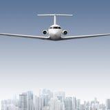 airliner Fotografie Stock