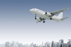 airliner Fotografia Stock