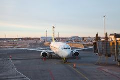airliner Fotos de Stock Royalty Free