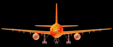 Airliner Royalty Free Stock Photography