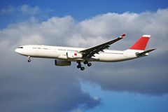 Airliner Arrival Royalty Free Stock Photography