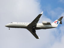 Airliner Bombardier Stock Images