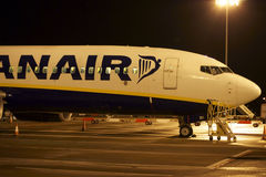 Airliner Ryanair Royalty Free Stock Image