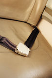 Airliner seat belt Stock Image