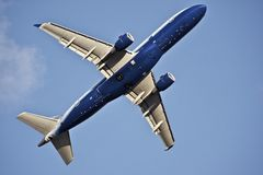 Airliner Takeoff Stock Image