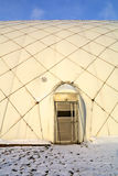 Airlock Door to Inflatable Sports Dome Stock Photo