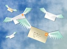 Airmail Royalty Free Stock Photo