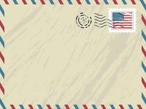 airmail amerykanina koperta ilustracji
