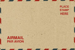 Brown Airmail Stock Images