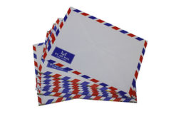 Airmail envelop Stock Images