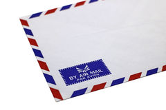 Airmail envelop Stock Photos