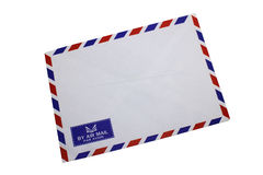 Airmail envelop Stock Photo