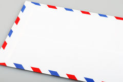 Airmail envelope. This is a airmail envelope Royalty Free Stock Image