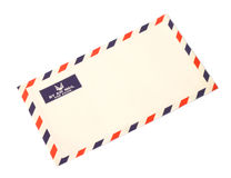 Airmail envelope Stock Images