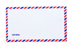 Airmail envelope Royalty Free Stock Photography