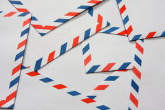 Airmail Envelopes Royalty Free Stock Images