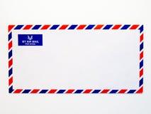 Airmail koperta Obrazy Royalty Free