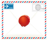 Airmail letter Stock Image