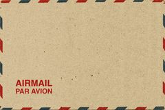 Airmail letter Royalty Free Stock Photos