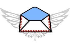airmail poczta ilustracji