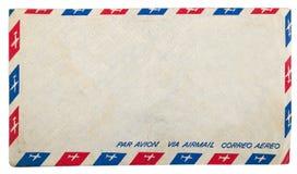 airmail rocznik brudny kopertowy Obrazy Royalty Free