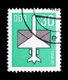 Airmail, seria, około 1983 royalty ilustracja
